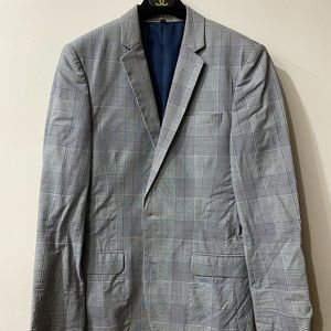 Glen plaid blazer - 36R